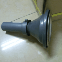 Plastic Strainer with Tail Pipe